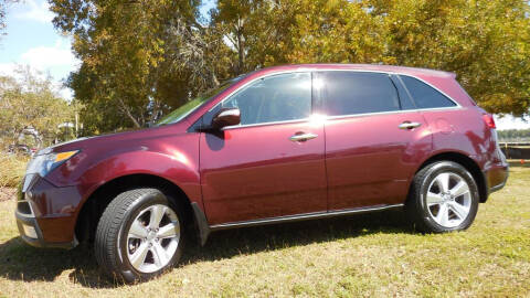 2013 Acura MDX for sale at Performance Autos of Southwest Florida in Fort Myers FL