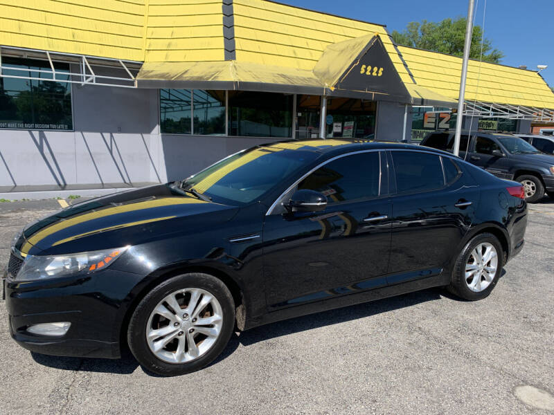 2012 Kia Optima for sale at Castle Used Cars in Jacksonville FL