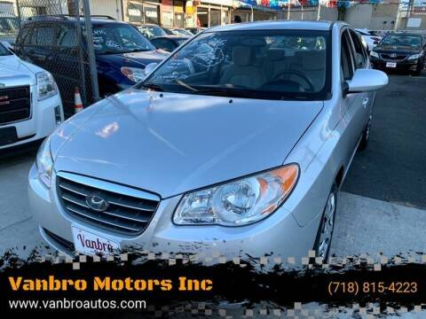 2009 Hyundai Elantra for sale at Vanbro Motors Inc in Staten Island NY