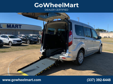 2017 Ford Transit Connect Wagon for sale at GOWHEELMART in Available In LA