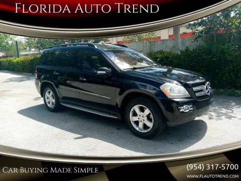 2008 Mercedes-Benz GL-Class for sale at Florida Auto Trend in Plantation FL