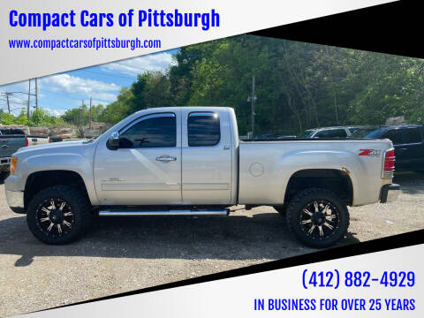 2010 GMC Sierra 2500HD for sale at Compact Cars of Pittsburgh in Pittsburgh PA