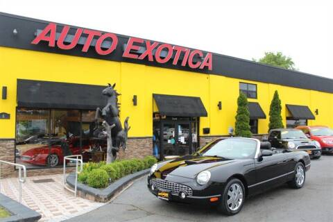 2002 Ford Thunderbird for sale at Auto Exotica in Red Bank NJ