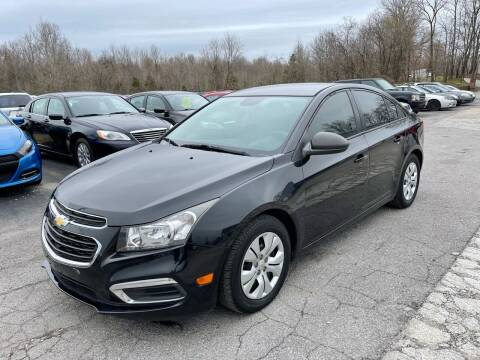 2015 Chevrolet Cruze for sale at Best Buy Auto Sales in Murphysboro IL