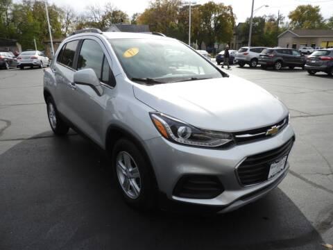 2017 Chevrolet Trax for sale at Grant Park Auto Sales in Rockford IL
