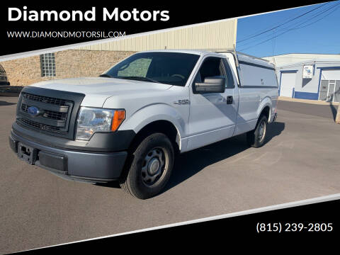 2013 Ford F-150 for sale at Diamond Motors in Pecatonica IL