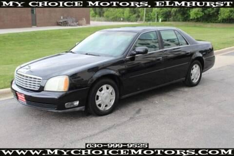2003 Cadillac DeVille for sale at My Choice Motors Elmhurst in Elmhurst IL