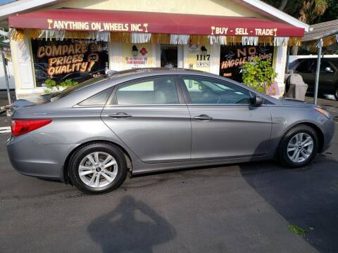 2013 Hyundai Sonata for sale at ANYTHING ON WHEELS INC in Deland FL