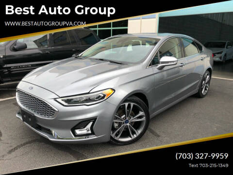 2020 Ford Fusion for sale at Best Auto Group in Chantilly VA
