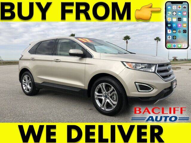 2017 Ford Edge for sale at Bacliff Auto in Bacliff TX