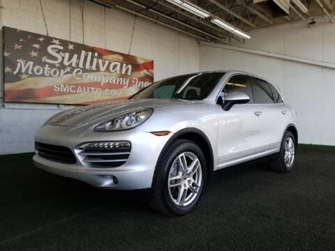 2014 Porsche Cayenne for sale at SULLIVAN MOTOR COMPANY INC. in Mesa AZ