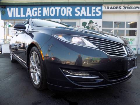 2013 Lincoln MKZ for sale at Village Motor Sales in Buffalo NY