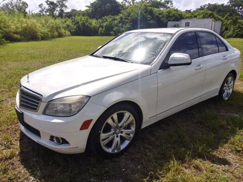 2008 Mercedes-Benz C-Class for sale at AUTO COLLECTION OF SOUTH MIAMI in Miami FL