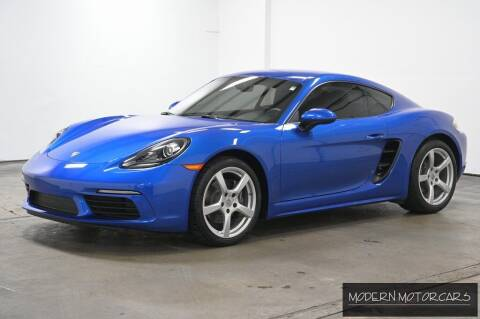 2018 Porsche 718 Cayman for sale at Modern Motorcars in Nixa MO