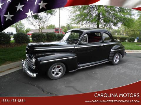 1948 Ford Deluxe for sale at CAROLINA MOTORS - Carolina Classics & More-Thomasville in Thomasville NC