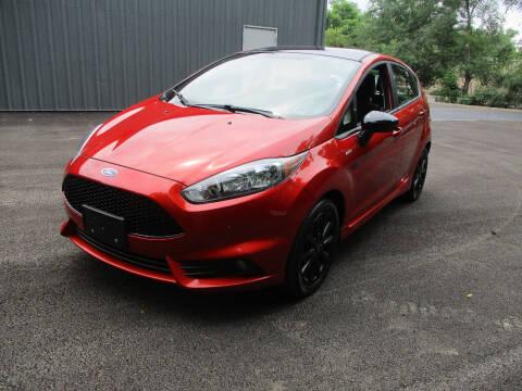 2019 Ford Fiesta for sale at Triangle Auto Sales in Elgin IL