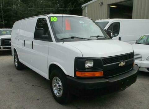 2010 Chevrolet Express Cargo for sale at Auto Towne in Abington MA