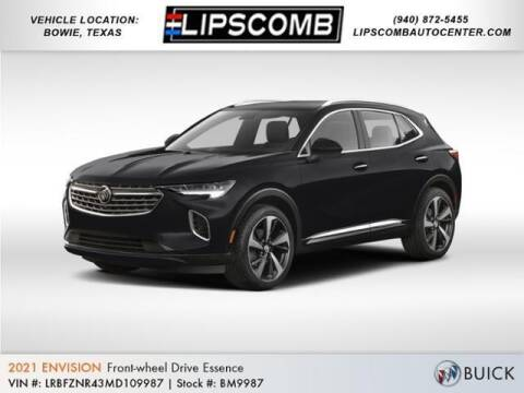 2021 Buick Envision for sale at Lipscomb Auto Center in Bowie TX