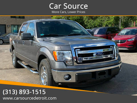 2014 Ford F-150 for sale at Car Source in Detroit MI