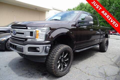2018 Ford F-150 for sale at Brandon Reeves Auto World in Monroe NC