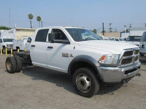 2016 RAM Ram Chassis 5500 for sale at Atlantis Auto Sales in La Puente CA