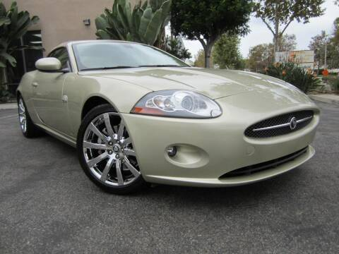2007 Jaguar XK-Series for sale at ORANGE COUNTY AUTO WHOLESALE in Irvine CA