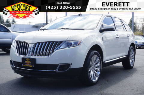 2013 Lincoln MKX for sale at West Coast Auto Works in Edmonds WA