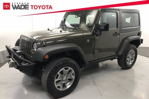 2016 Jeep Wrangler for sale at Stephen Wade Pre-Owned Supercenter in Saint George UT