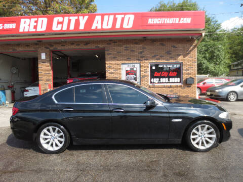 2013 BMW 5 Series for sale at Red City  Auto in Omaha NE