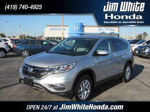 2015 Honda CR-V for sale at The Credit Miracle Network Team at Jim White Honda in Maumee OH