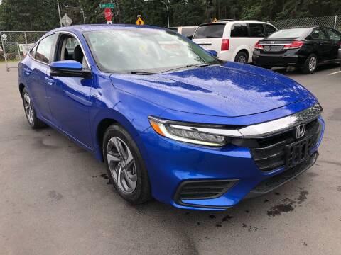 2019 Honda Insight for sale at ALHAMADANI AUTO SALES in Spanaway WA