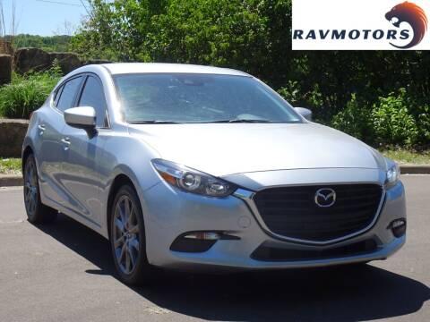 2018 Mazda MAZDA3 for sale at RAVMOTORS in Burnsville MN