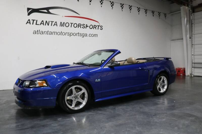 2003 Ford Mustang for sale at Atlanta Motorsports in Roswell GA