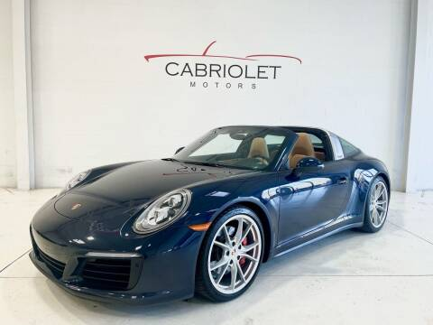 2017 Porsche 911 for sale at Cabriolet Motors in Morrisville NC