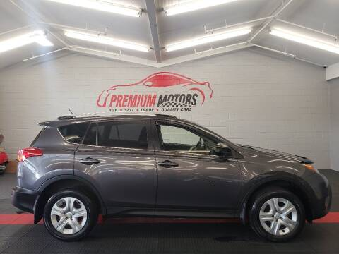 2015 Toyota RAV4 for sale at Premium Motors in Villa Park IL