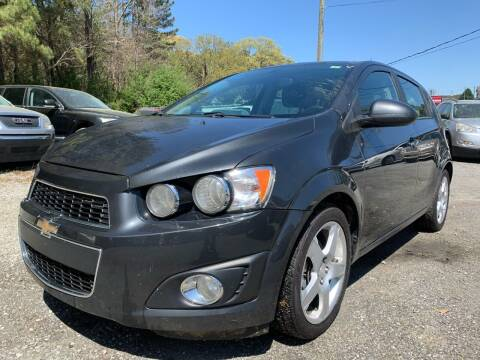2014 Chevrolet Sonic for sale at ATLANTA AUTO WAY in Duluth GA