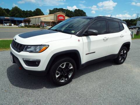2018 Jeep Compass for sale at USA 1 Autos in Smithfield VA