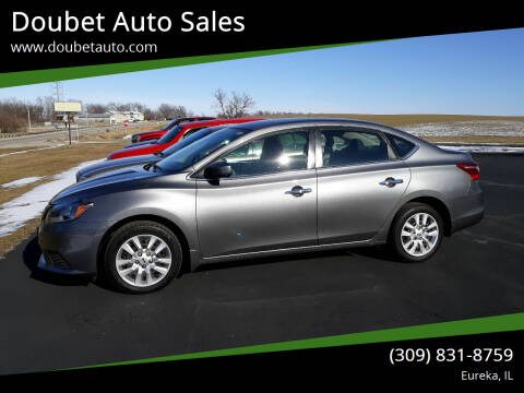 2017 Nissan Sentra for sale at Doubet Auto Sales in Eureka IL