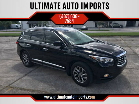 2013 Infiniti JX35 for sale at ULTIMATE AUTO IMPORTS in Longwood FL