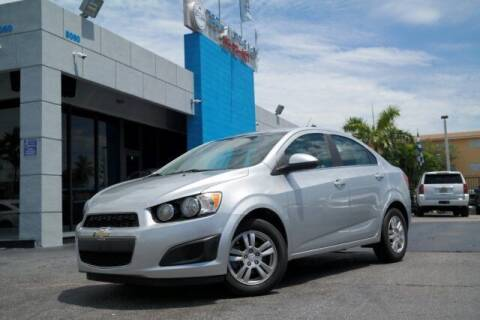 2014 Chevrolet Sonic for sale at Tech Auto Sales in Hialeah FL