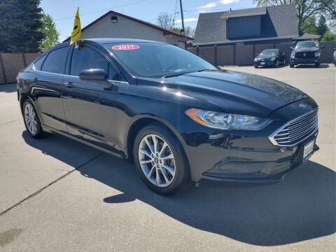 2017 Ford Fusion for sale at Triangle Auto Sales 2 in Omaha NE