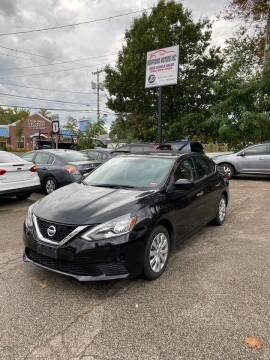 2017 Nissan Sentra for sale at NEWFOUND MOTORS INC in Seabrook NH