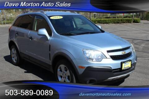 2014 Chevrolet Captiva Sport for sale at Dave Morton Auto Sales in Salem OR