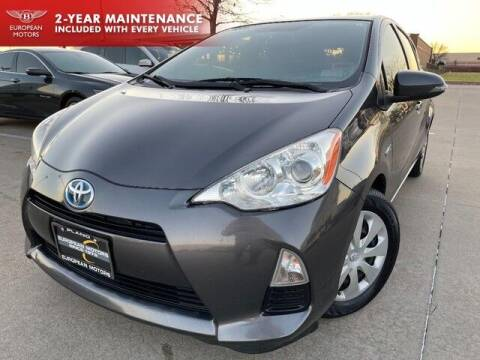 2013 Toyota Prius c for sale at European Motors Inc in Plano TX
