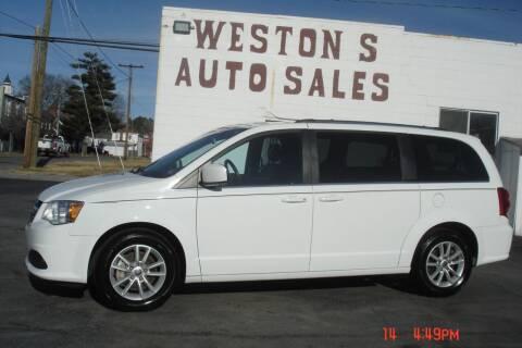 2019 Dodge Grand Caravan for sale at Weston's Auto Sales, Inc in Crewe VA
