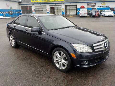 2010 Mercedes-Benz C-Class for sale at RTE 123 Village Auto Sales Inc. in Attleboro MA