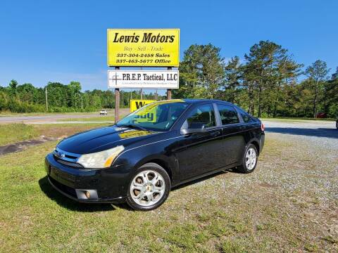 2009 Ford Focus for sale at Lewis Motors LLC in Deridder LA