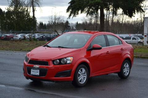 2014 Chevrolet Sonic for sale at Skyline Motors Auto Sales in Tacoma WA