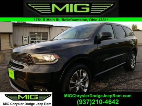 2019 Dodge Durango for sale at MIG Chrysler Dodge Jeep Ram in Bellefontaine OH