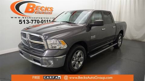 2016 RAM Ram Pickup 1500 for sale at Becks Auto Group in Mason OH
